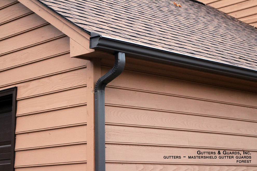 Mastershield for Traditional Exterior with Mastershield Gutter Guards