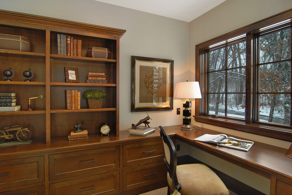 Mattamy Homes Az for Traditional Home Office with Framed Art