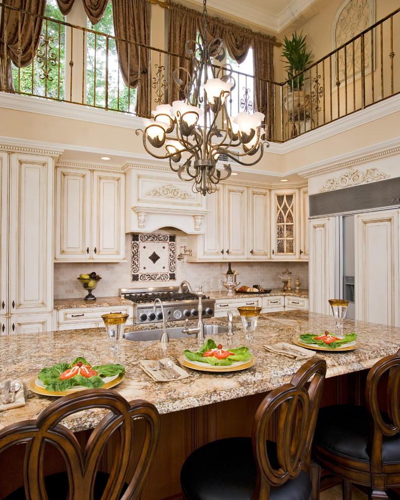 Medallion Homes for Traditional Kitchen with Dramatic Kitchen