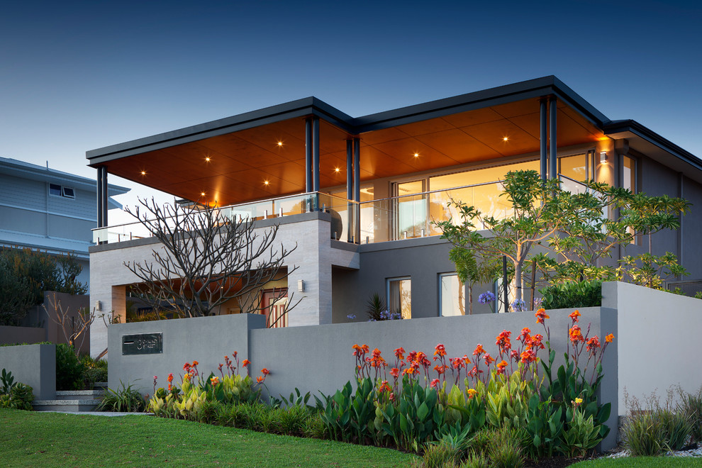 Mihomes for Contemporary Exterior with Balcony