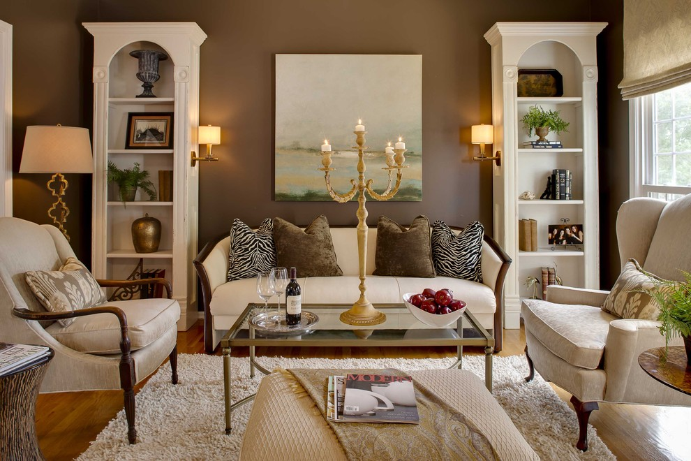 Nebraska Furniture Mart Hours for Traditional Family Room with White Armchair