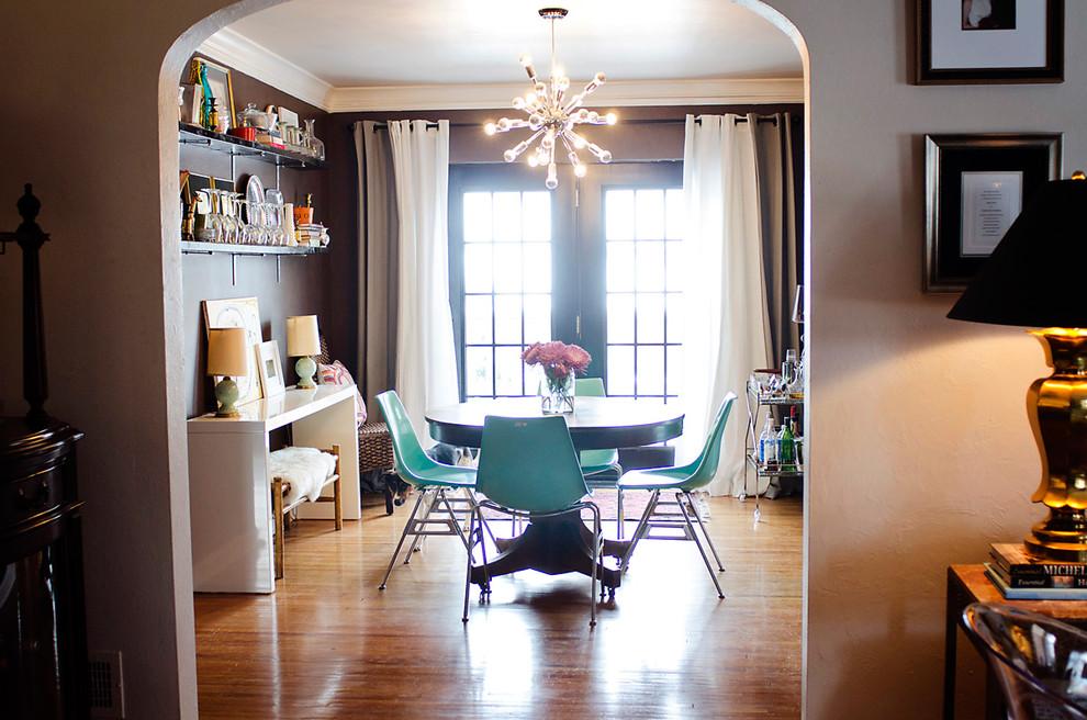 Nebraska Furniture Mart Omaha for Shabby-Chic Style Dining Room with Sputnik Chandelier