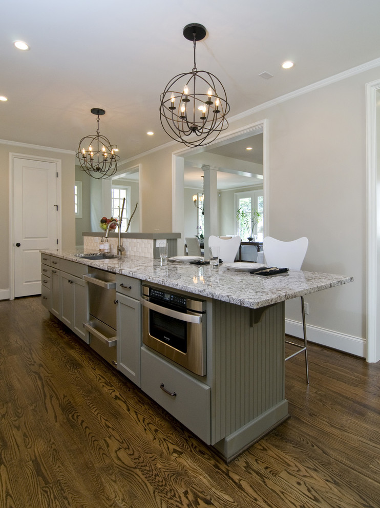 Norcraft for Contemporary Kitchen with Grey