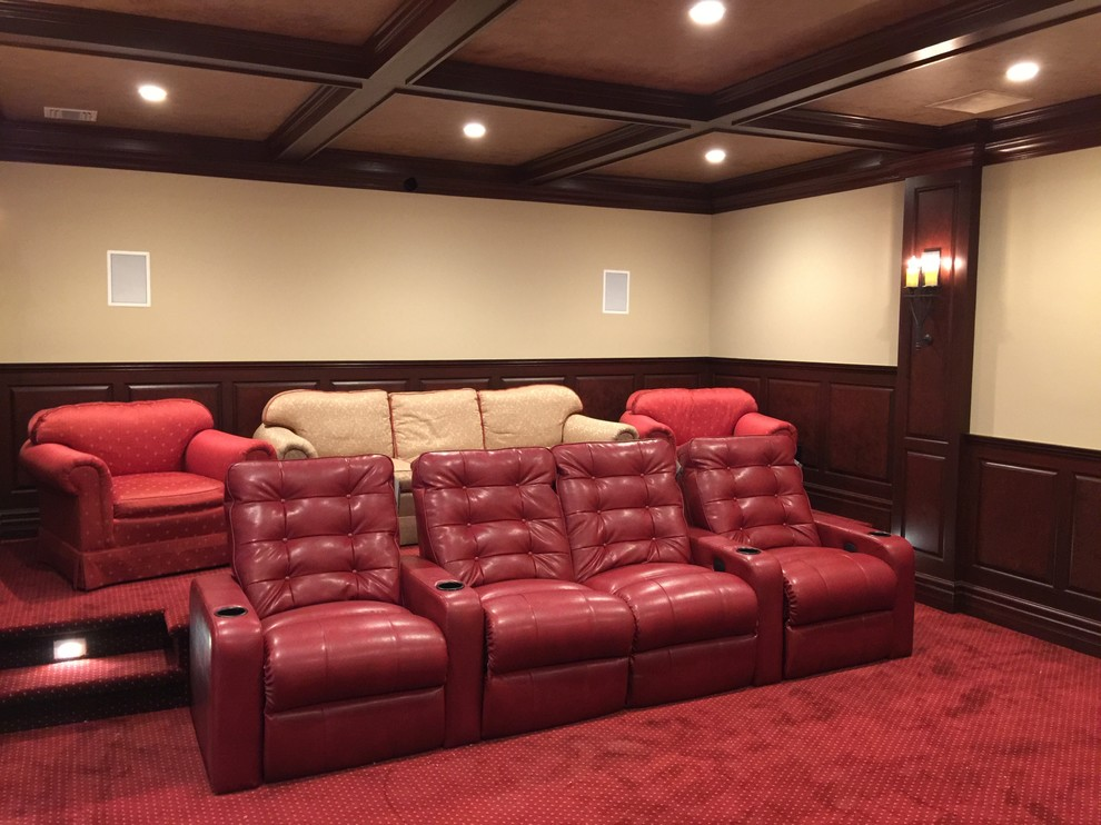 Oakwood Theater for Traditional Home Theater with Oakwood Automation