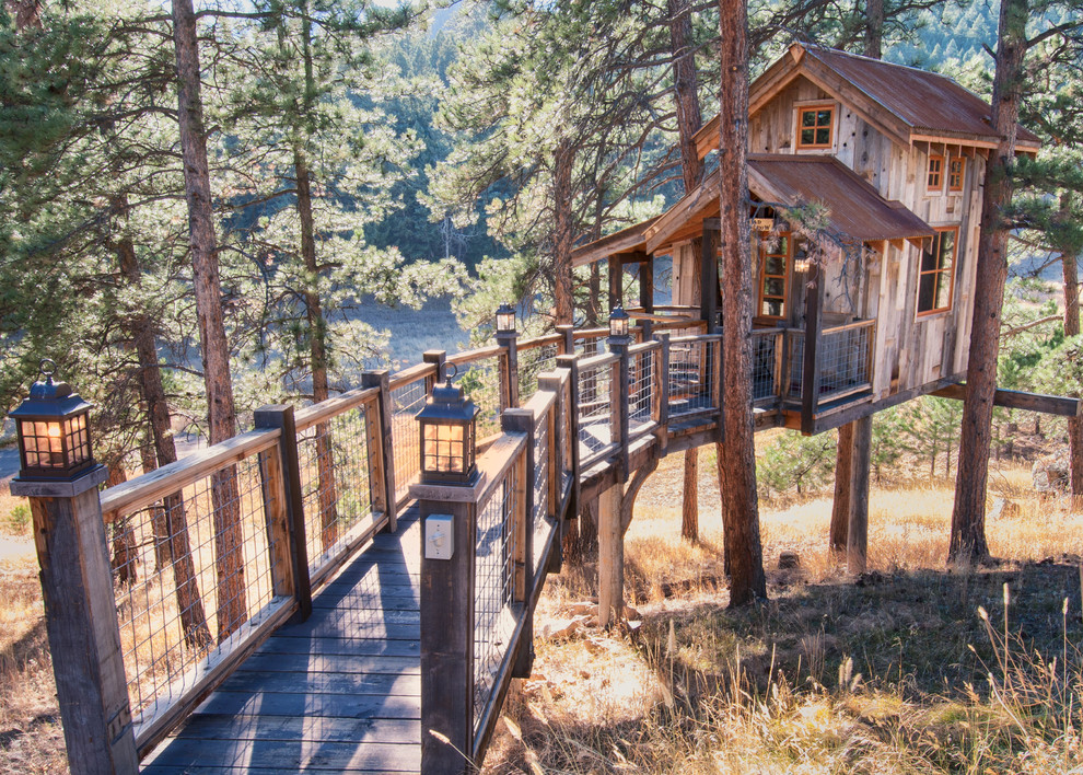 Odyssey House Utah for Rustic Exterior with Woodsy