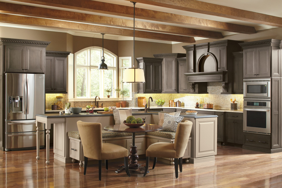 Omega Cabinetry for Traditional Kitchen with Omega Cabinets
