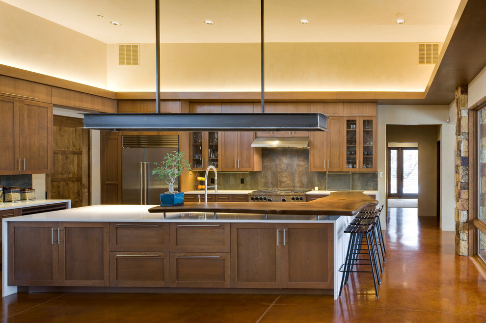 Panera Bread Albuquerque for Contemporary Kitchen with Wood Drawers