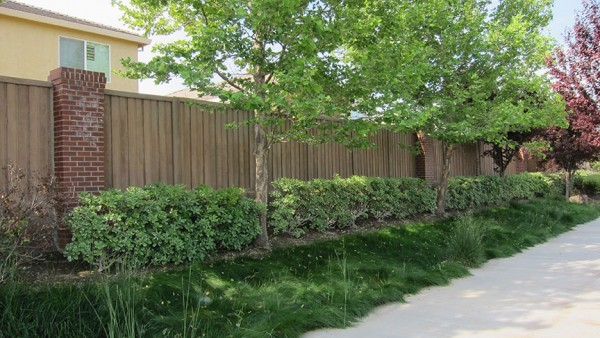 Picket Fence Realty for Traditional Landscape with Concrete