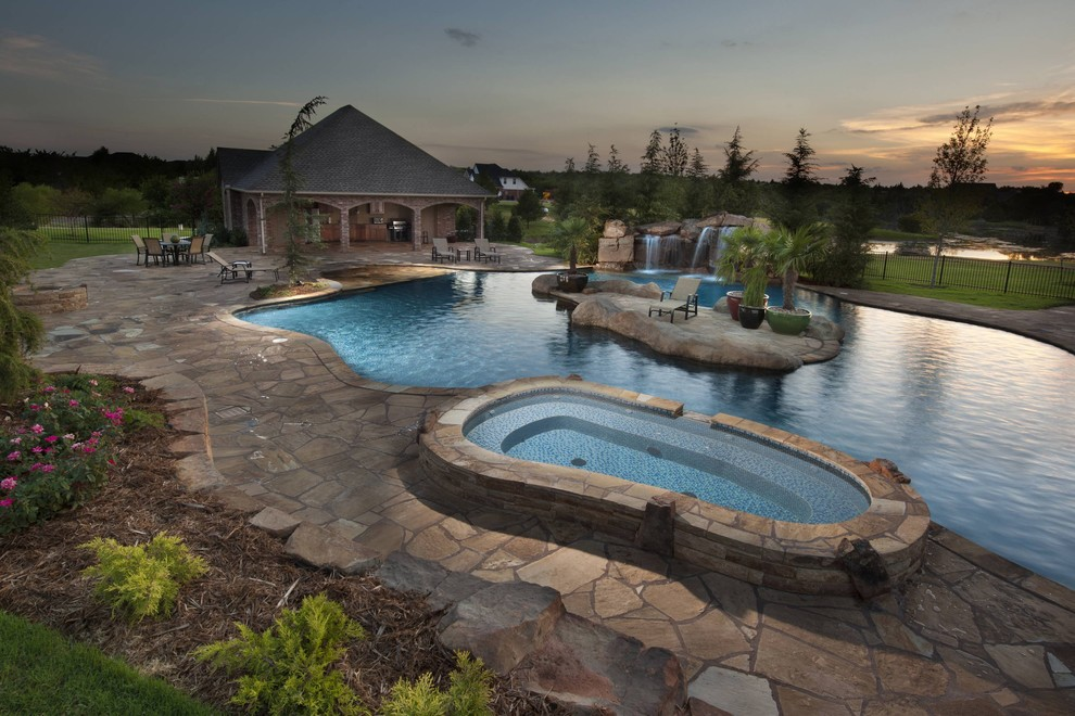 Pine Island Nursery for Tropical Pool with Oklahoma