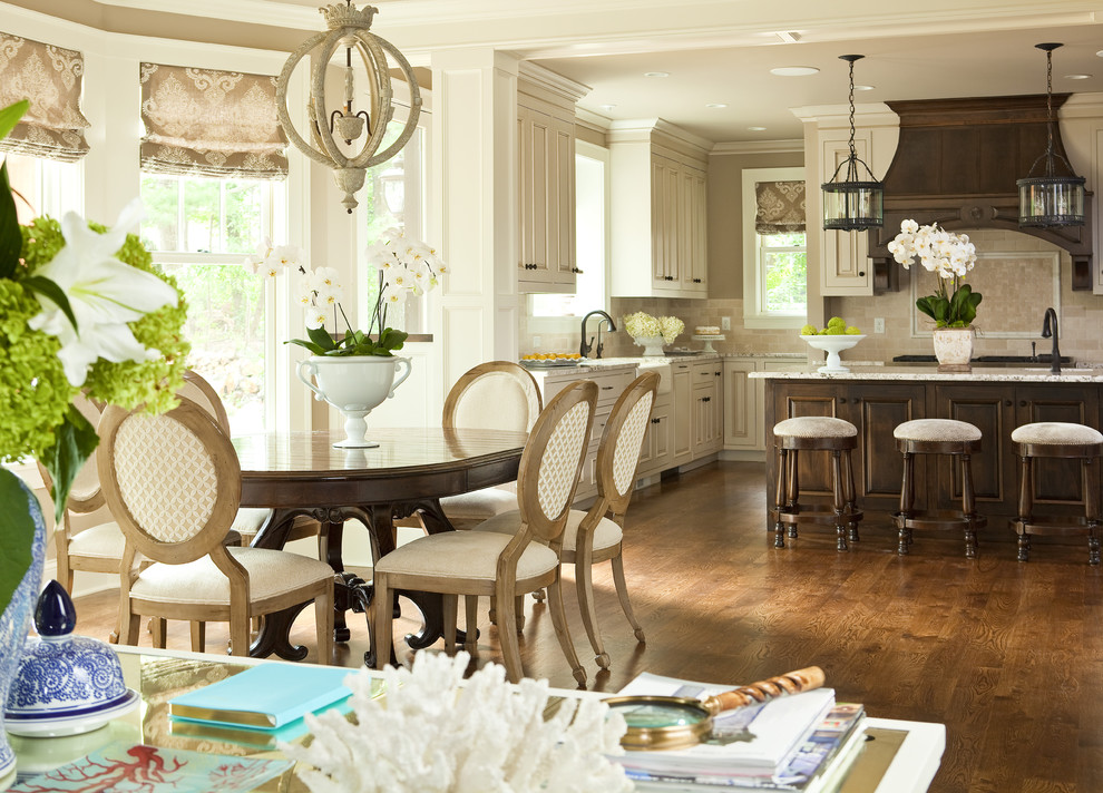 Platte Clay Electric for Traditional Kitchen with Stools