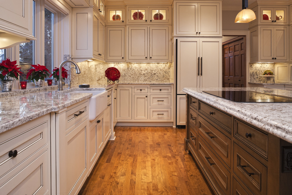Plymouth Mn Weather for Traditional Kitchen with Panel Refrigerator