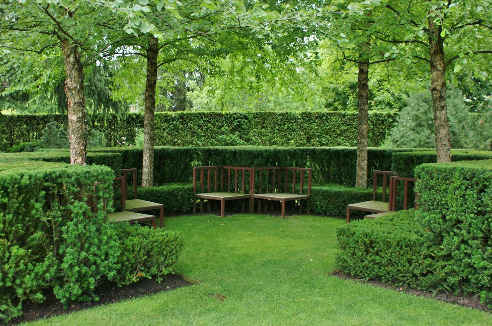 Potomac Garden Center for Traditional Landscape with Layered Garden