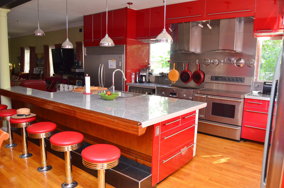 Pretzel Factory for Eclectic Kitchen with Eclectic