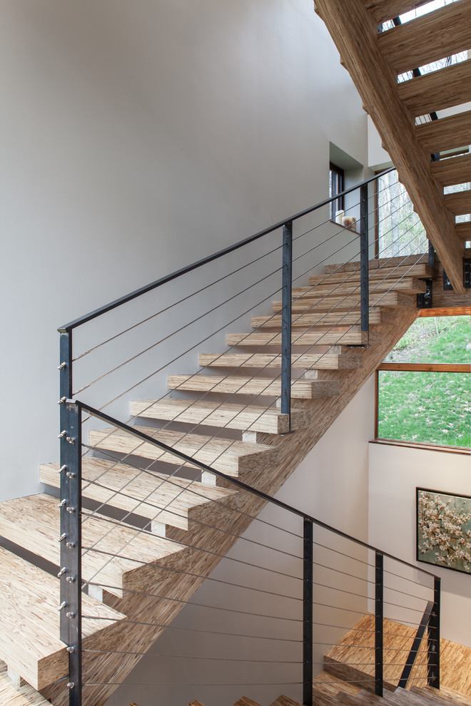 Psl Beam for Contemporary Staircase with My Houzz