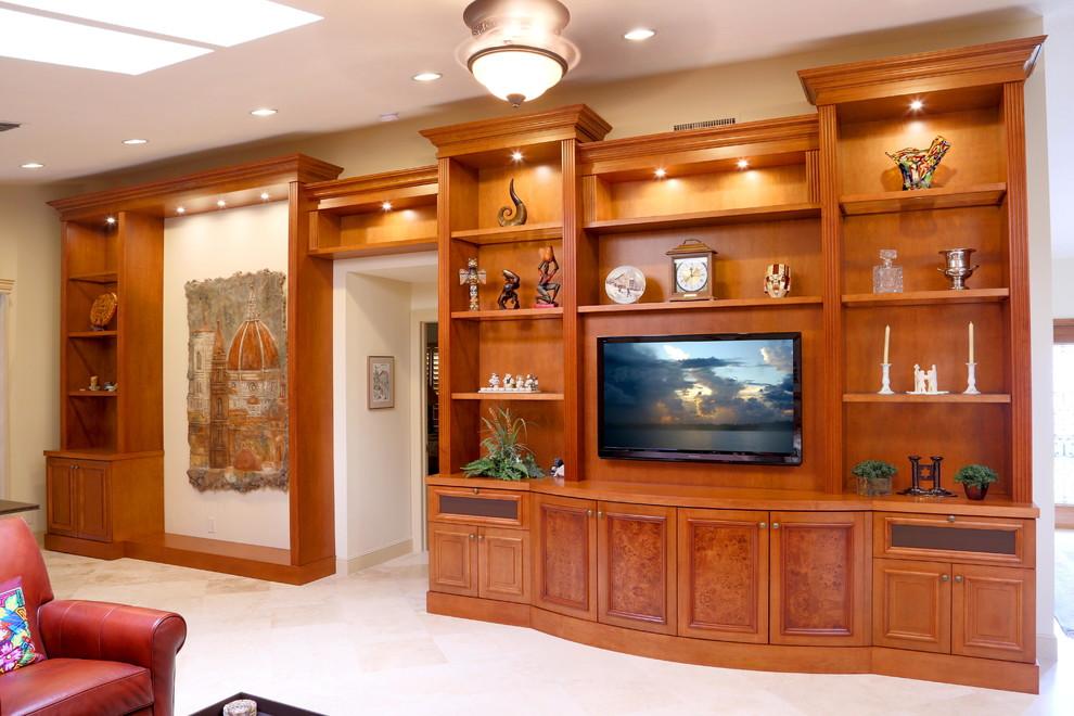 Pura Vida Miami for Traditional Family Room with Custom