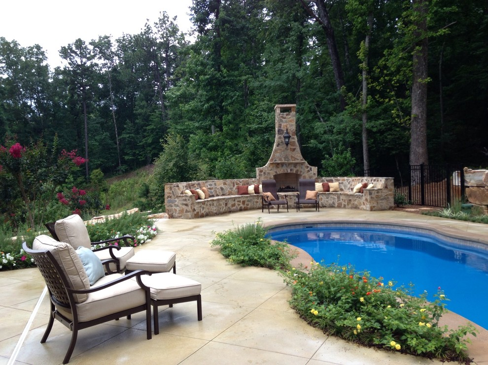 Realty South Birmingham Al for Traditional Pool with Traditional