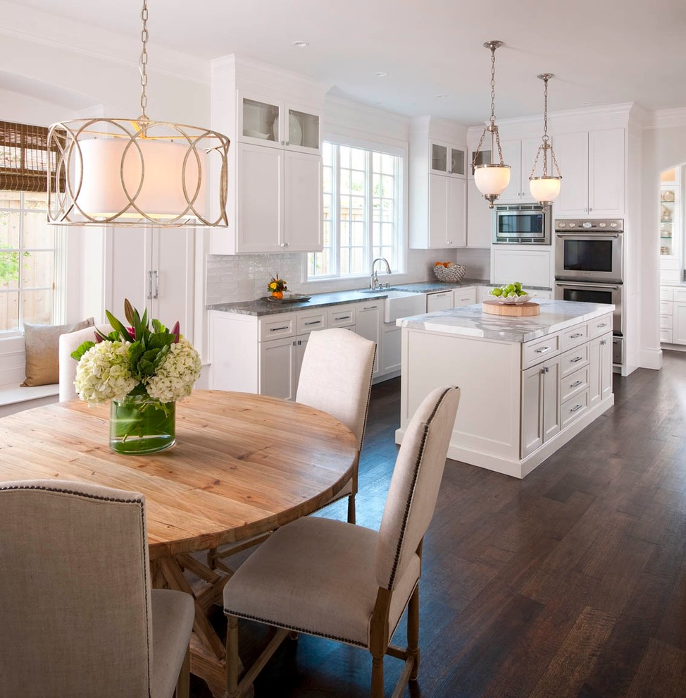 Restoration Hardware Houston for Traditional Kitchen with Overlay Cabinet Doors