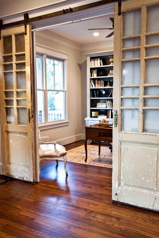 Ridgewater for Traditional Home Office with French Living