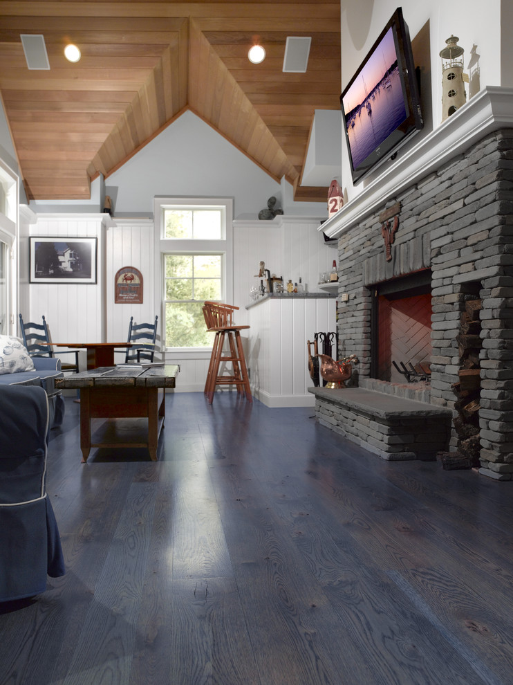 Riverhead Lumber for Traditional Living Room with Wide Plank Flooring