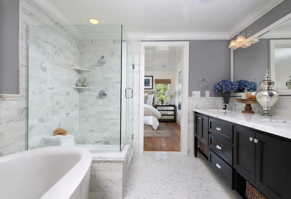 Robson Homes for Traditional Bathroom with Gray