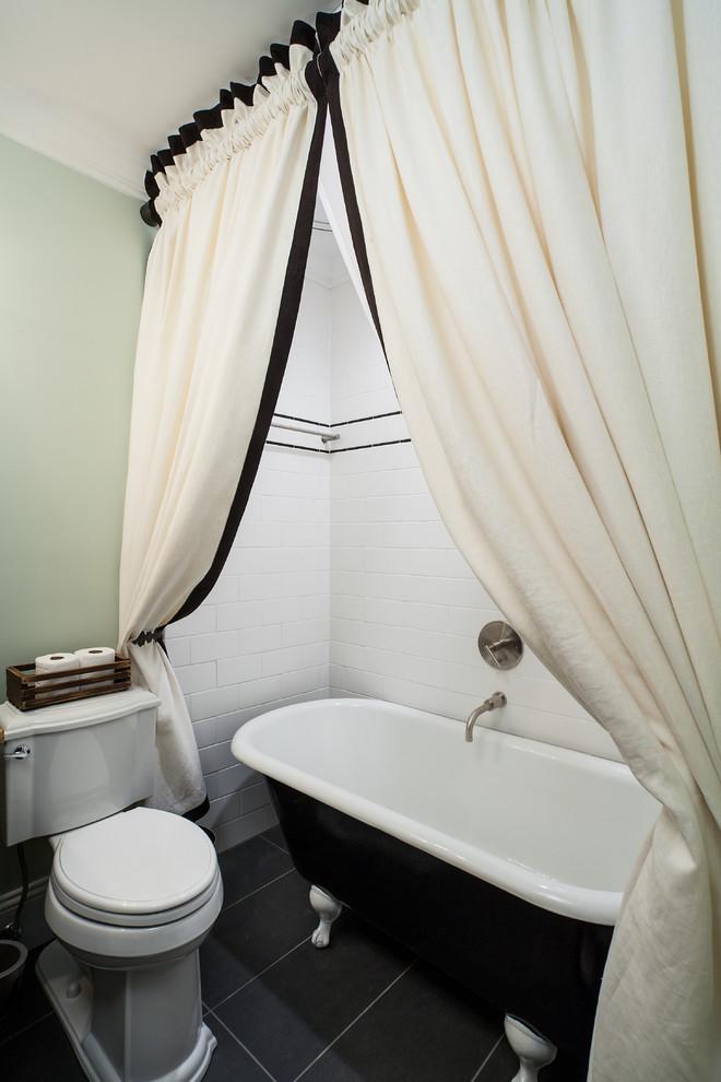 Roca Tile for Craftsman Bathroom with Preservation