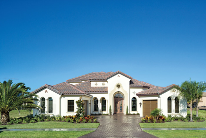Rosewood Homes for Mediterranean Exterior with Charolais Estates