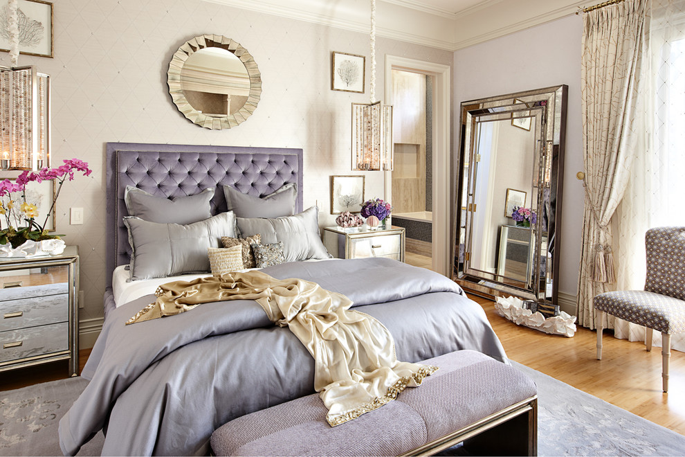 Ryland Homes Las Vegas for Eclectic Bedroom with Silver