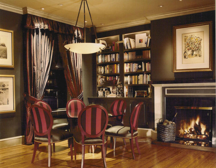 San Francisco Must See for Traditional Dining Room with Open Shelves