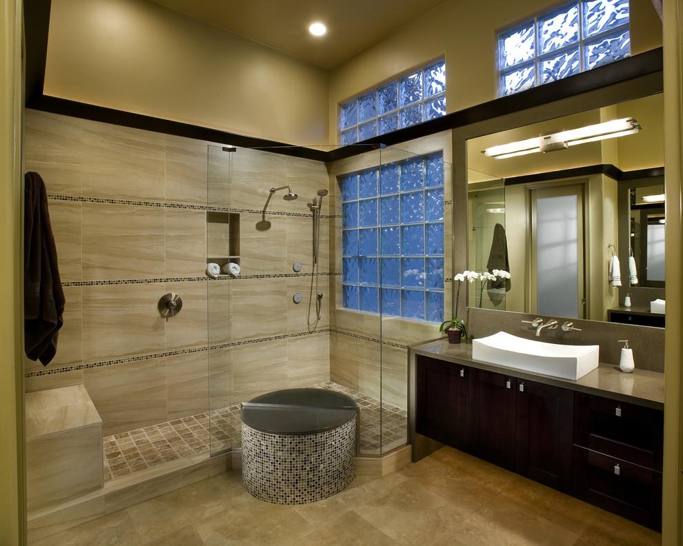 Sears Glasses for Modern Bathroom with Frameless Shower Door