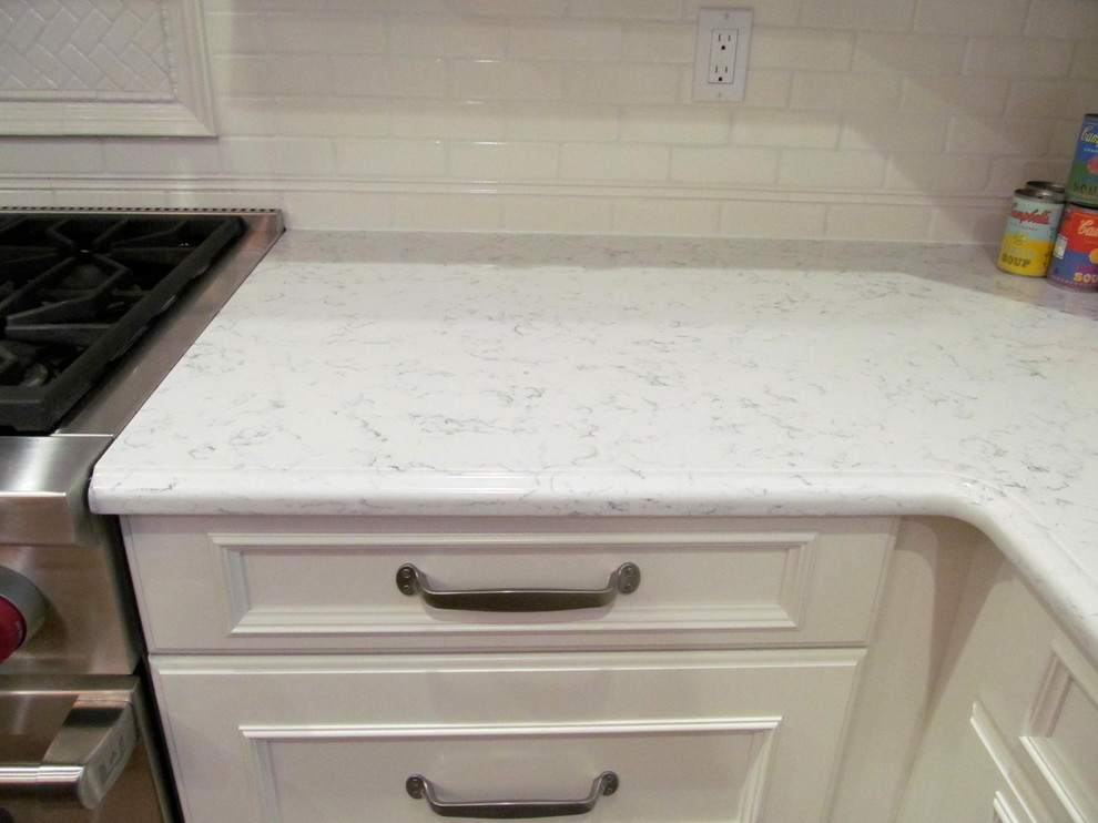 Silestone for Traditional Kitchen with Silestone Lyra Countertop