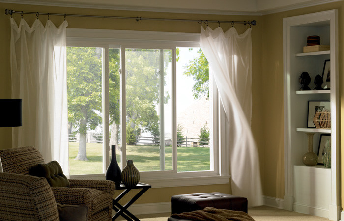 Simonton for Traditional Family Room with Windows