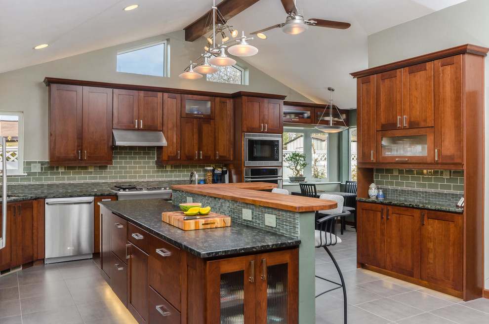 Sonata at Cherry Creek for Transitional Kitchen with Bay Window