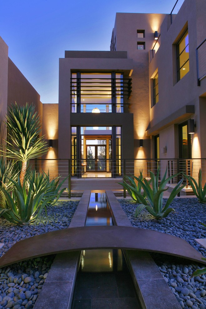 Spanish Trails Las Vegas for Contemporary Exterior with Patio