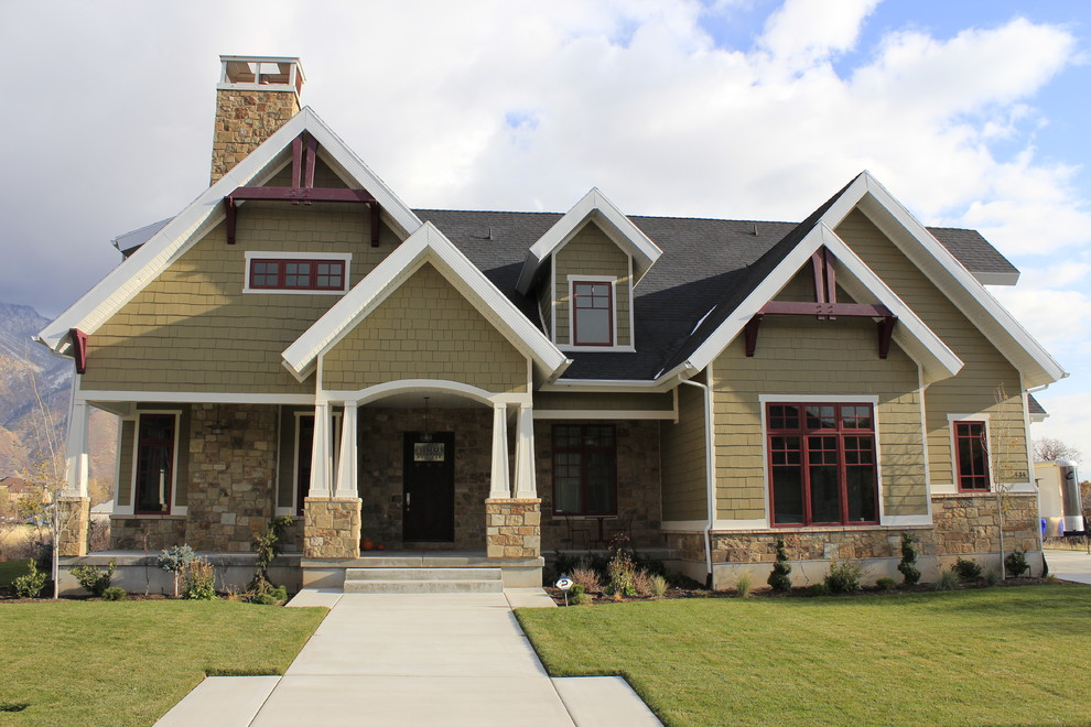 St Aubyn Homes for Craftsman Exterior with Dormer Windows