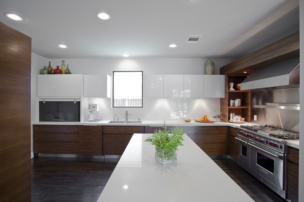 Statewide Remodeling for Contemporary Kitchen with Two Tone Cabinets