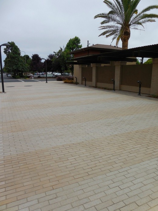 Stepstone Inc for Traditional Landscape with Narrow Modular Pavers