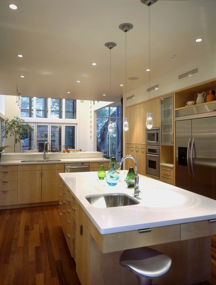Sugatsune for Contemporary Kitchen with Cabinetry