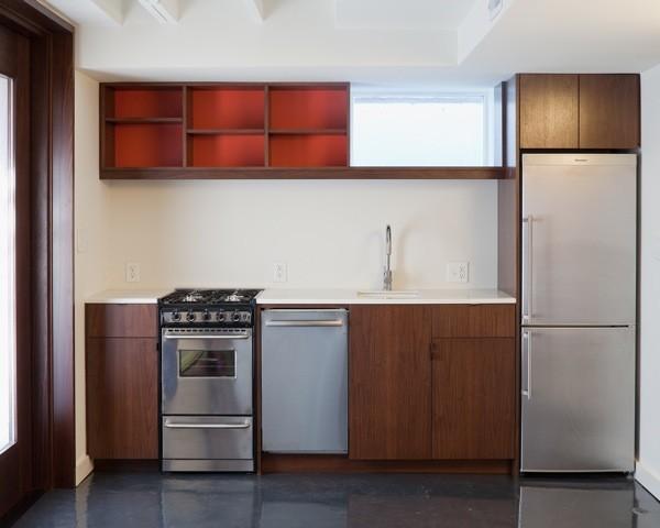 Summit Appliance for Modern Basement with Modern
