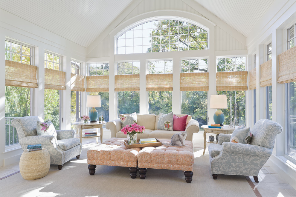 Sun Realty Nc for Traditional Sunroom with Lucy Interior Design
