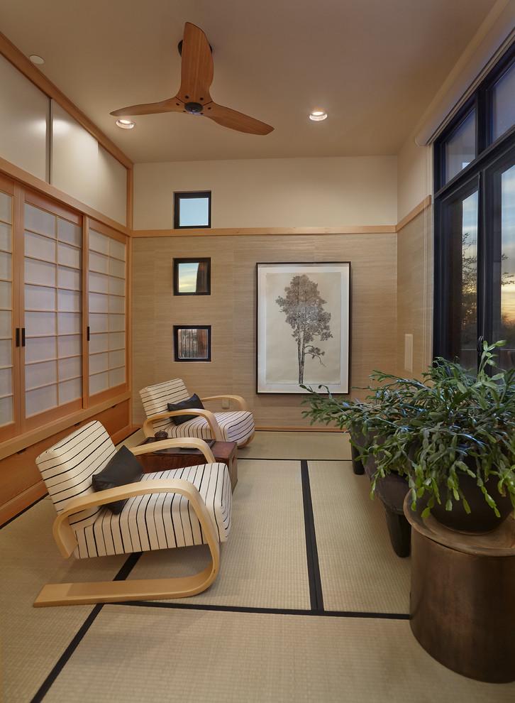 Sunroc for Asian Sunroom with Saguaro