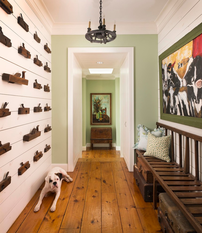 Texas Tool Traders for Farmhouse Hall with White Trim