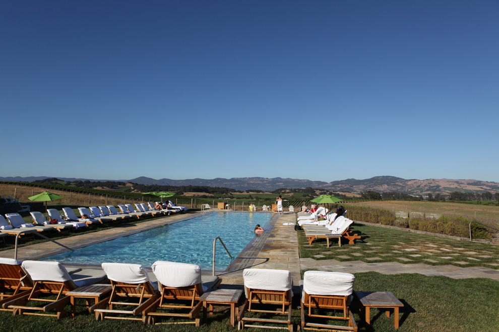 The Carneros Inn Napa Ca for Contemporary Pool with Contemporary