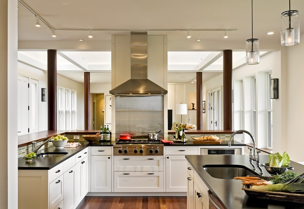 The Kitchen Portsmouth Nh for Contemporary Kitchen with Wood Floors