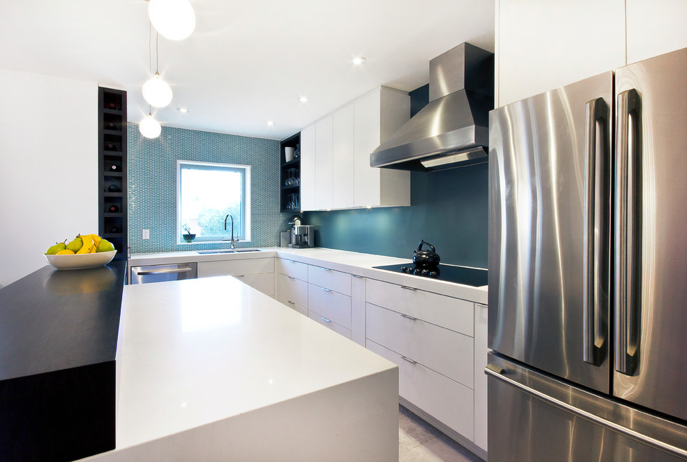 Thermofoil for Modern Kitchen with Bar