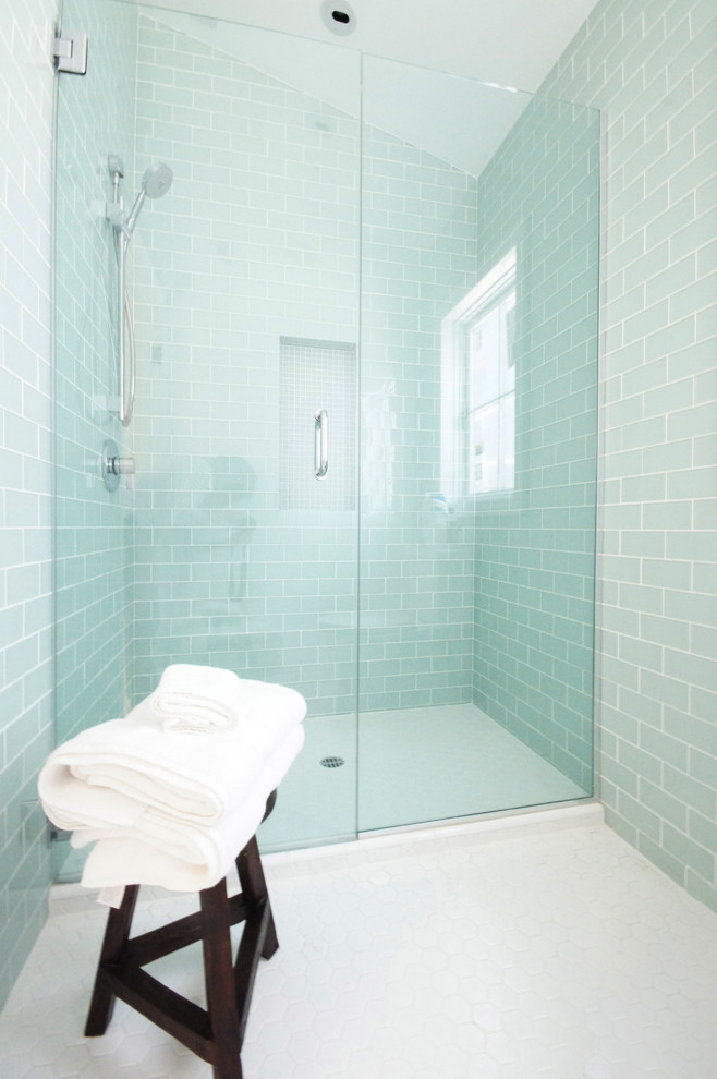 Tile Market of Delaware for Contemporary Bathroom with Hansgrohe