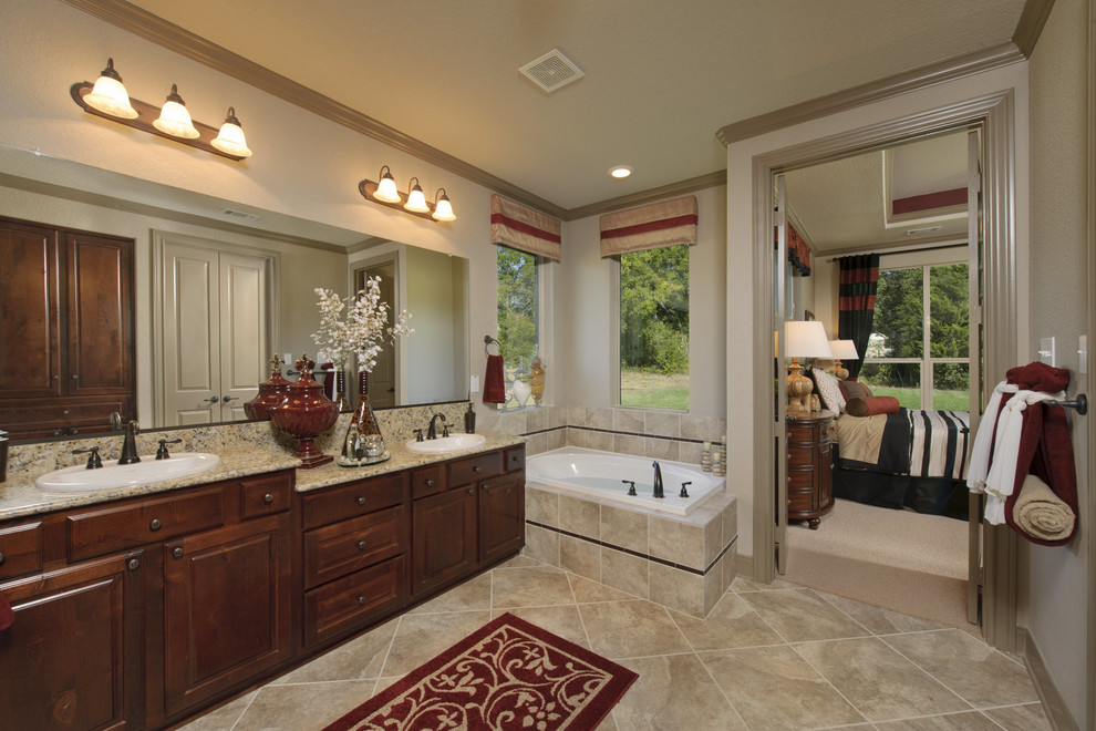 Tilson Homes for Traditional Bathroom with Soaking Tub
