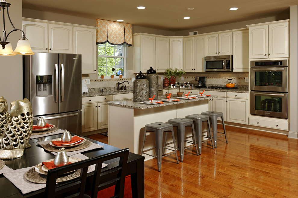 Timberlake Cabinets for Modern Kitchen with Beazer Homes