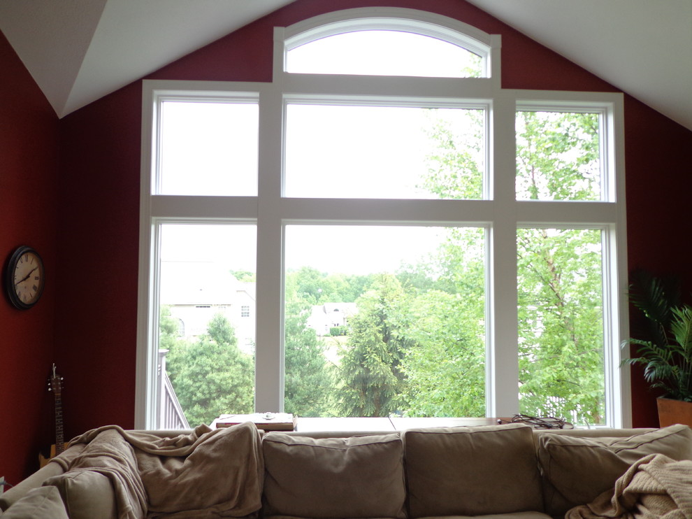 Tint Pros for Modern Living Room with Window Tint