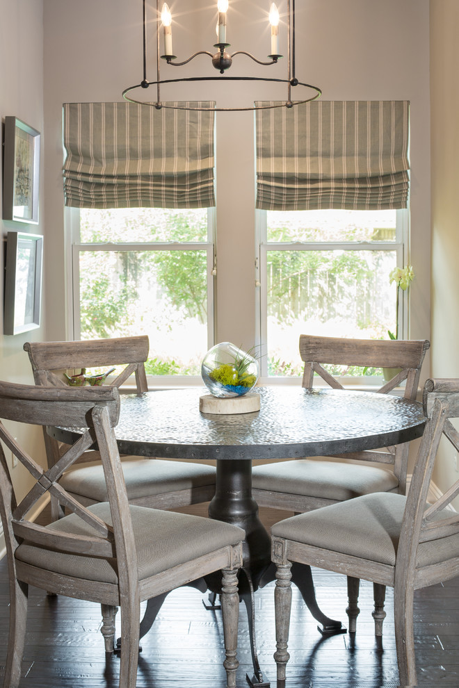 Tradewinds Furniture for Transitional Kitchen with Zinc Breakfast Table