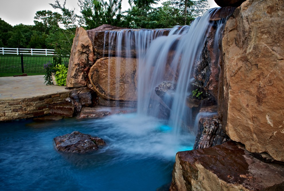 Twinspires for Rustic Pool with Tulsa Pool Builder